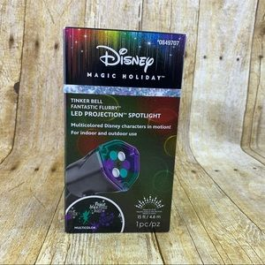 Magic Holiday Projection Reflector Tinker Bell